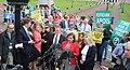 Protest at Boris Johnson visit (48421498091).jpg