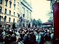 Protesters' rally at Malaya Sadovaya street, Saint Petersburg.jpg