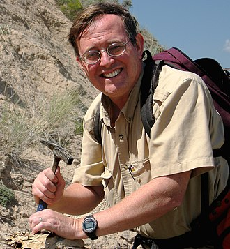 Donald Prothero - Donald Prothero, in the Troublesome Formation near Kremmling, central Colorado, 2008
