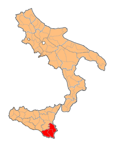 Provincia di Noto Two Sicilies map.png