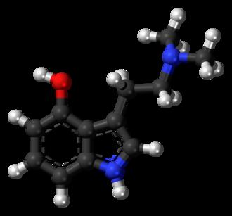 Psilocin - Image: Psilocin 3D balls