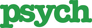 English: Logo for the TV series Pysch, which o...