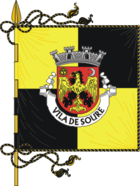 Flagge von Soure (Portugal)