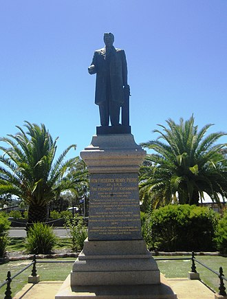 Frederick Henry Piesse - Statue in Katanning