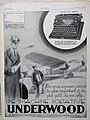 Publicité pour la machine portative Underwood (1929).jpg