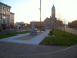 Watertown (city), New York - Watertown public square