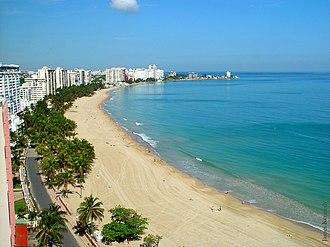 Isla Verde, Puerto Rico - Isla Verde Beach