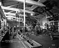 Puget Mill Co machine shop interior, Port Gamble, Washington, December 1918 (INDOCC 446).jpg