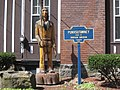 Punxsutawney, PA Keystone Marker and wooden Indian.jpg