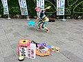 QQ-chan performancing at Taipei Expo Park 20160507a.jpg
