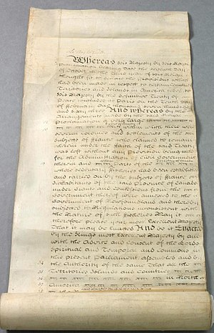 Quebec Act - Quebec Act, 1774