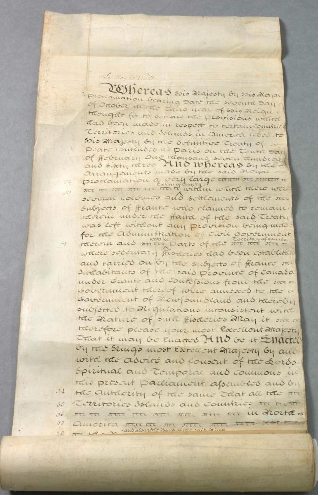 Québec Act, 1774