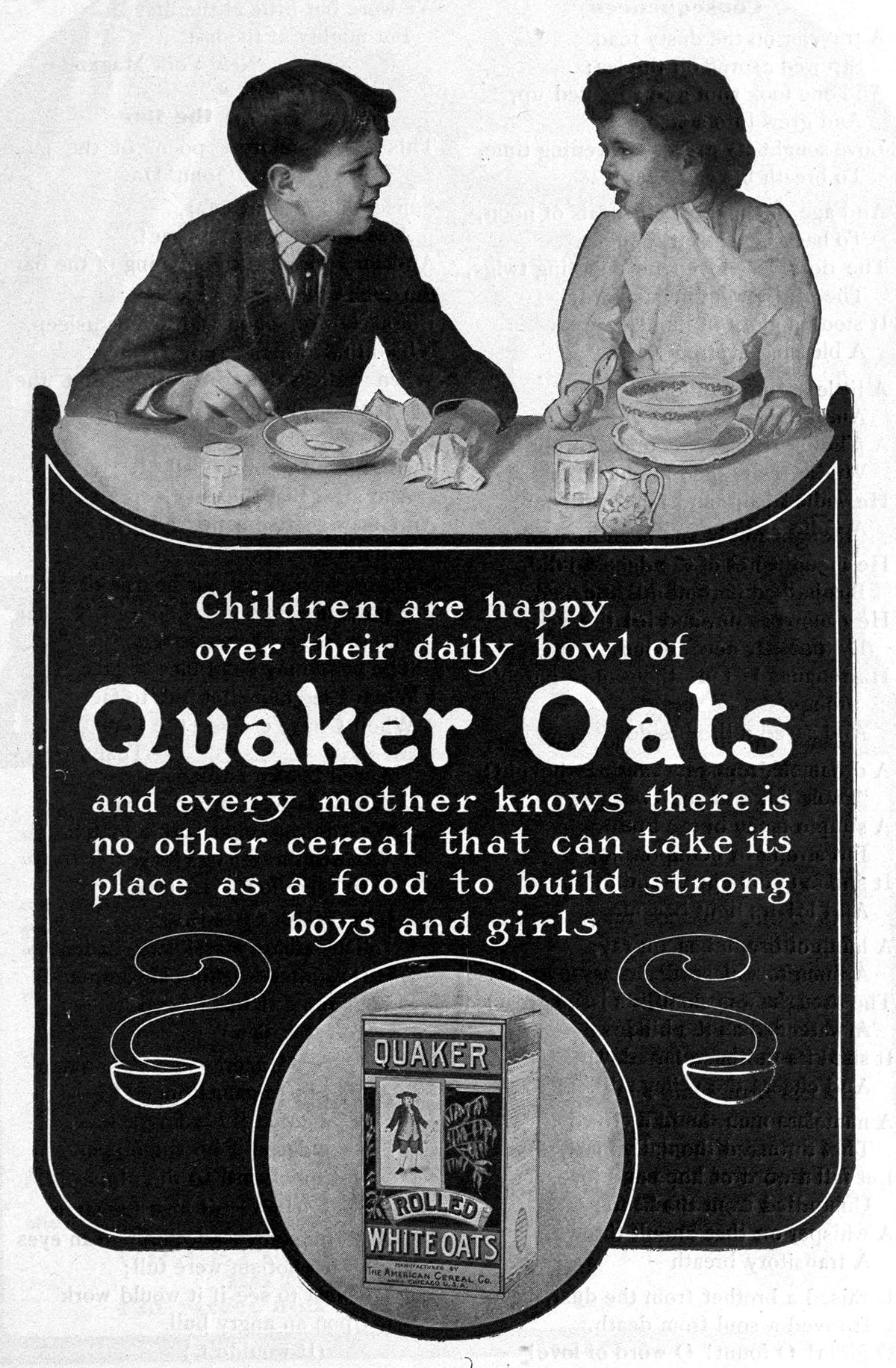 a history and an analysis of the quaker oats company History of quaker oats this article may require cleanup to meet wikipedia's quality standards 1901 saw the formation of the quaker oats company in new jersey.