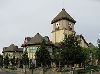 Qualicum Beach - Town Hall, Qualicum Beach
