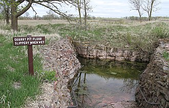 Pipestone National Monument - Image: Quarry Pipestone MN