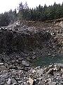 Quarry near Bwlch Rhyd y Meirch - geograph.org.uk - 721215.jpg