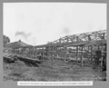 Queensland State Archives 3114 Erection of carpenters shop and store sheds at Immigration Depot Kangaroo Point Brisbane 30 July 1935.png