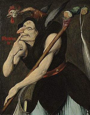 Stupidity - An Allegory of Folly (early 16th century) by Quentin Matsys