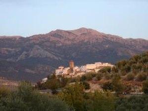 Quesada, Spain - Image: Quesada al atardecer