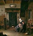 Quirijn van Brekelenkam - An Old Woman Delousing a Boy.jpg
