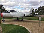 RAAF (A94-982) CAC Sabre Mk 2 gate guardian at RAAF Base Wagga.jpg