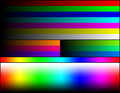 RGB 18bits palette color test chart.png