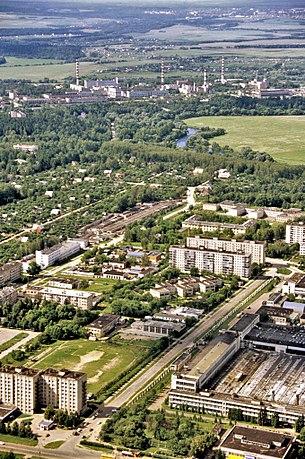 Вид на Обнинск