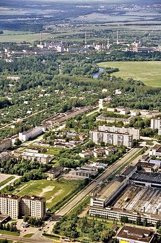 Obninsk - Bird's-eye view of Obninsk