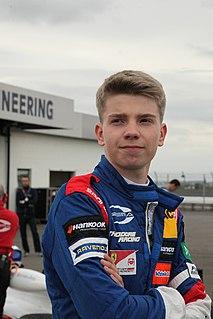 Robert Shwartzman Russian racing driver