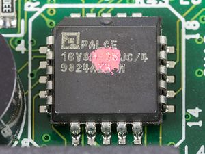 Programmable Array Logic - AMD Palce 16V8H-25JC
