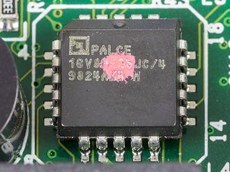 Programmable Array Logic - AMD Palce 16V8H-25JC