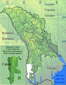 Cahul, Moldova is located in Cahul
