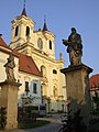 Rajhrad - Klášter benediktýnů s kostelem sv. Petra a Pavla 5.JPG