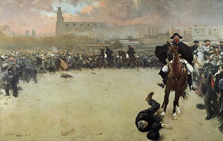 The charge by Ramon Casas (1899) Ramon Casas Charge.jpg