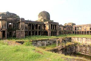 Raisen - Image: Rani Mahal Raisen Fort (9)