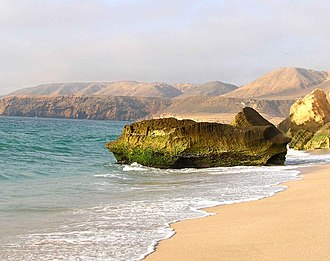 Arabian Peninsula - Ras Aljinz, southeastern Arabia (Oman) also known as the 'Turtle Beach'.