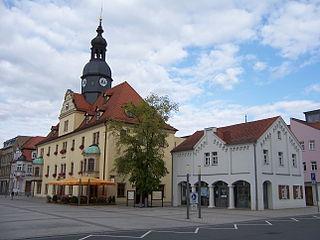 Borna, Leipzig Place in Saxony, Germany
