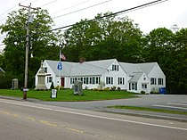 Raynham Public Library; Raynham, MA; southeast (front) and northeast sides.JPG