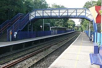 Reading–Basingstoke line - Image: Reading West railway station