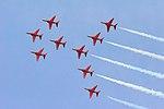 Red Arrows - RIAT 2007 (2475990617).jpg