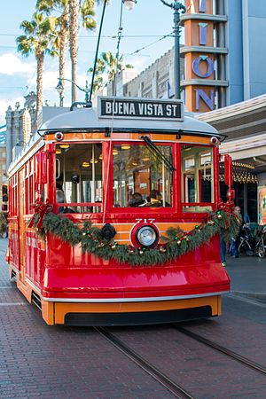 Red Car Trolley - Image: Red Car Trolley (27662893984)