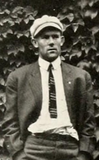 Reddy Rowe - Rowe pictured in The Howler 1911, Wake Forest yearbook