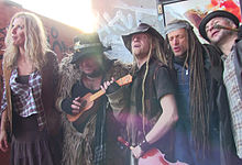 Rednex video recording in Berlin 2015-12-31.jpg