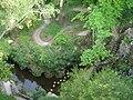 Regaleira Waterfall Lake from above.JPG