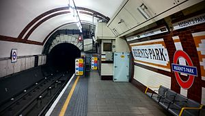Regent's Park tube station - Image: Regents Park Station
