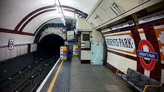Regent's Park tube station - Image: Regents Park Station