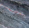 Region Hit by Large Pakistan Quake as Shown by NASA Spacecraft (9939357963).jpg