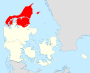 Region Nordtjylland locator map.svg