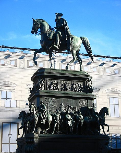 Пам'ятник Фрідріху ІІ в Берліні