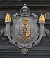 Relief Royal coats of arms Denmark Copenhagen.jpg